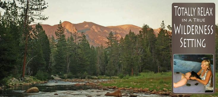 A California vacation alternative to Yosemite with resort cabins, spa, hiking to…