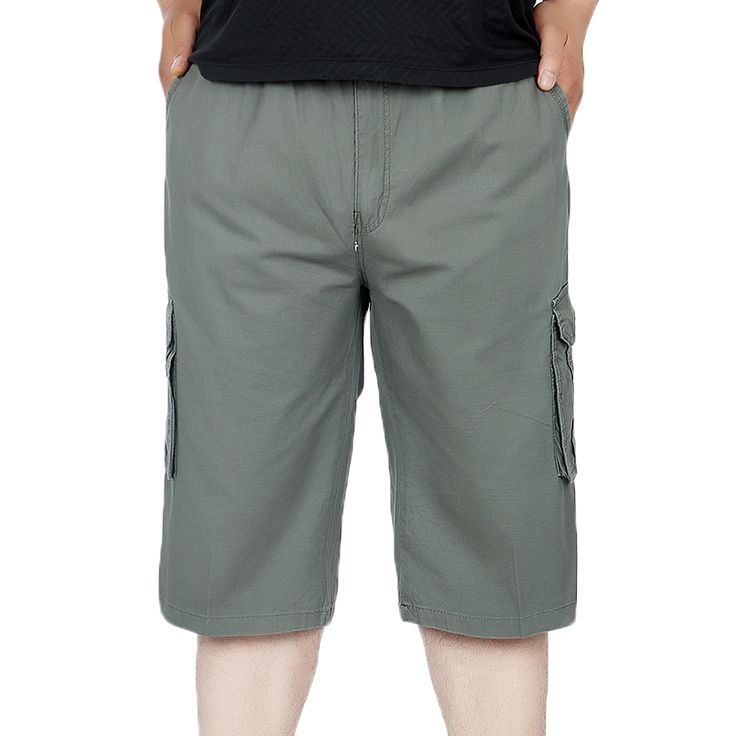 Pantalones Cortos Hombre Verano Color Sólido Casual Fashion con Cordón Bermudas Shorts Pantalon Corto Basicas Tallas Grandes jUD3Awr