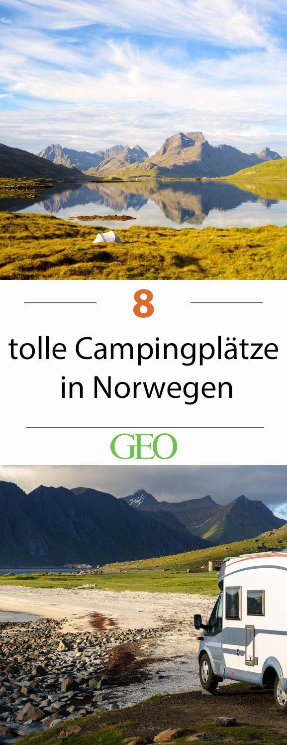 Campingplätze in Norwegen: Unsere acht Favoriten