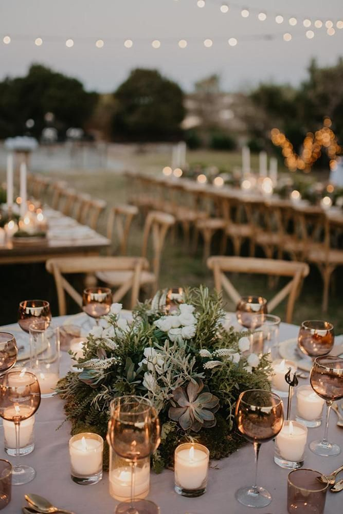 42 Outstanding Wedding Table Decorations Wedding Forward Round