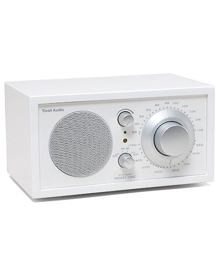Tivoli Audio white frost