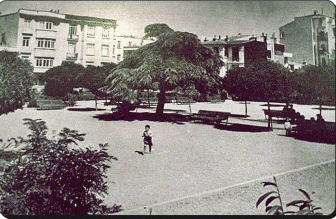 Old Istanbul Tour with photos Nisantasi park-1943 