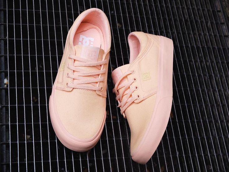 DC Shoes, DC Skate shoes, DC Trase TX Peachie Peach