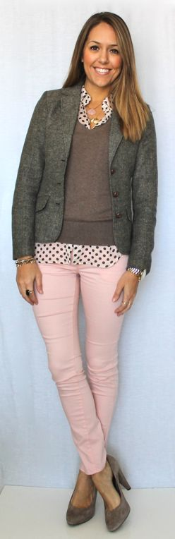 J's Everyday Fashion: Today's Everyday Fashion: Blush and Neutrals