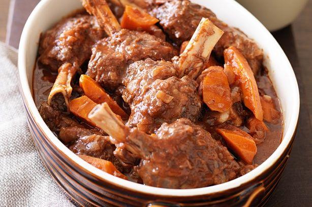 French Lamb Shanks Recipe - Taste.com.au