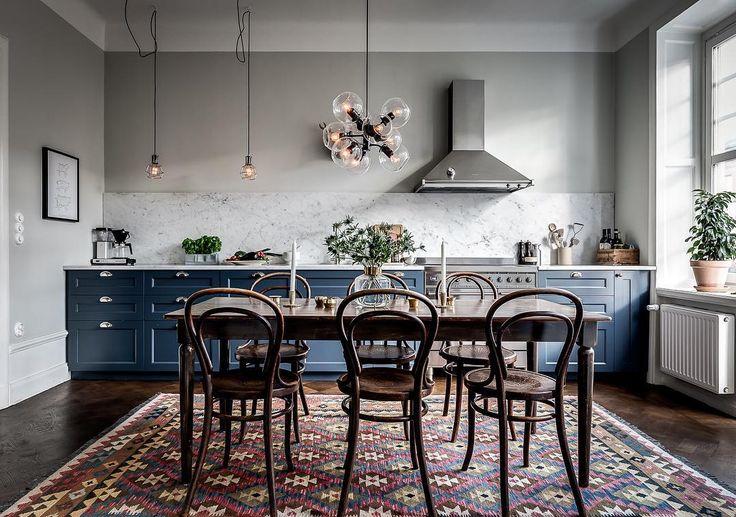 "831 gilla-markeringar, 6 kommentarer - Henrik Nero (@henriknero) på Instagram: ""Sneak peek at this upcoming listing and stylish kitchen - Vanadisvägen 18 very soon for sale -…"""