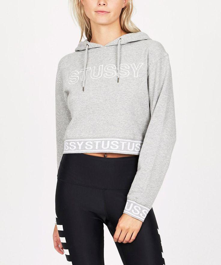 STANTON CROP HOOD | Fleece | Jumpers + Cardigans | Clothing | Shop Womens | General Pants Online