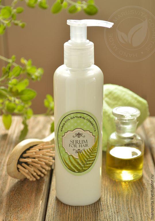 Купить Сыворотка для волос с кератином - белый, сыворотка, сыворотка для волос, защита волос, термозащита волос