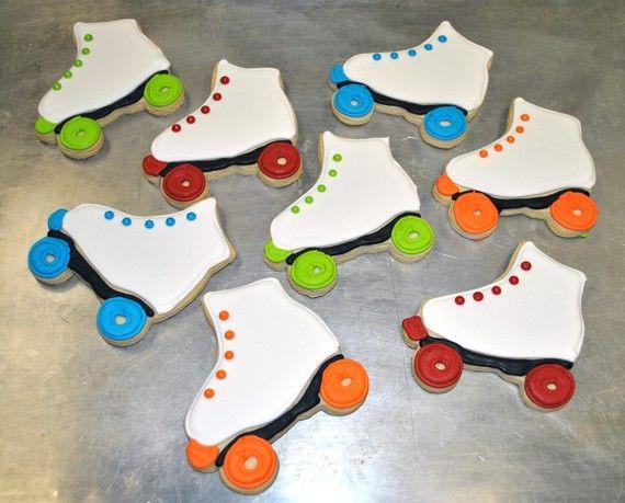 rollerskate cookies | Roller Skate Cookies by baked on Etsy