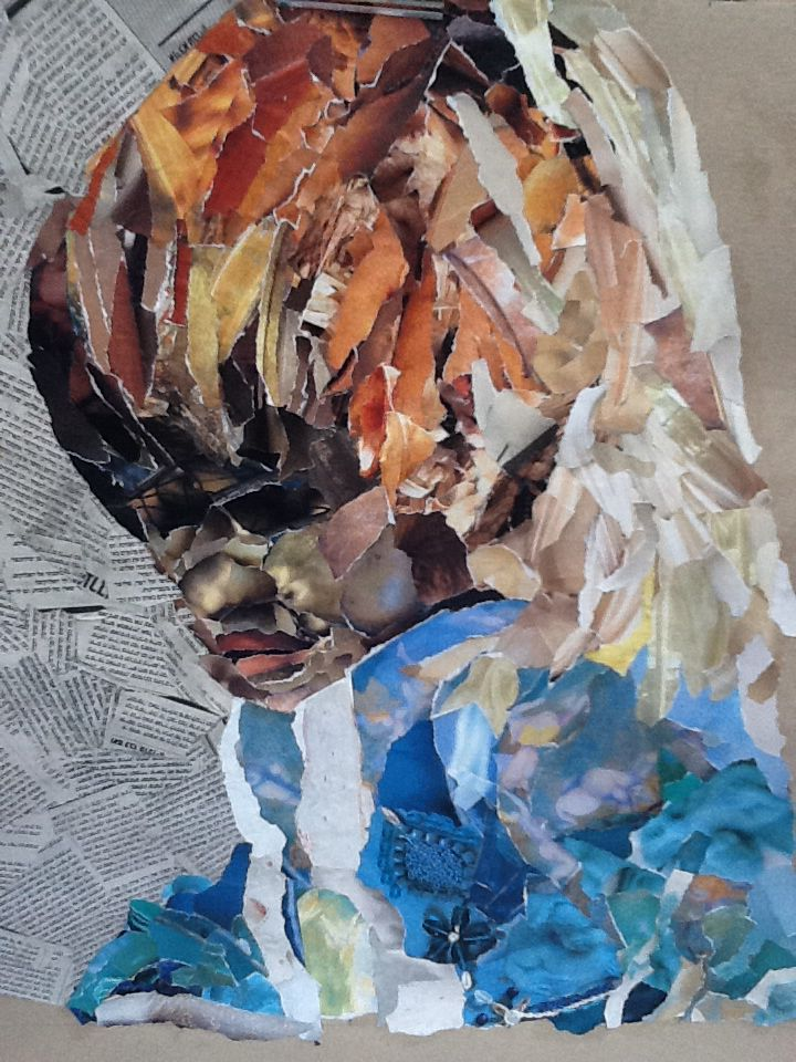 """""""Part of Me"""" collage by Simone Dole"""