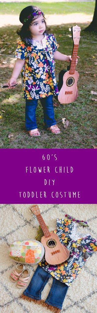 Sew Jersey Mama | DIY Sewing | DIY Halloween Costume | Halloween Costume | Toddler Outfit | Toddler Costume | Hippie Costume