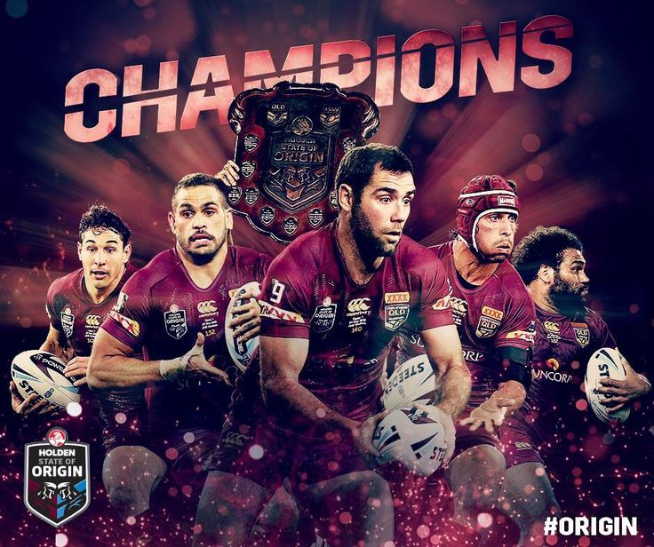 Queensland Maroons 2015 Origin winners
