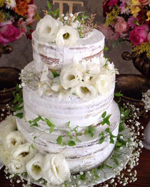 26 bolos de casamento LINDOS, deliciosos e para todos os estilos! Image: 7