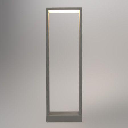 Außenleuchte Frame 50 LED silbergrau. #außenleuchte #stehlampe #standleuchte #osteraktion