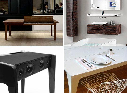 love the horizontal 51 ipod speaker shelf
