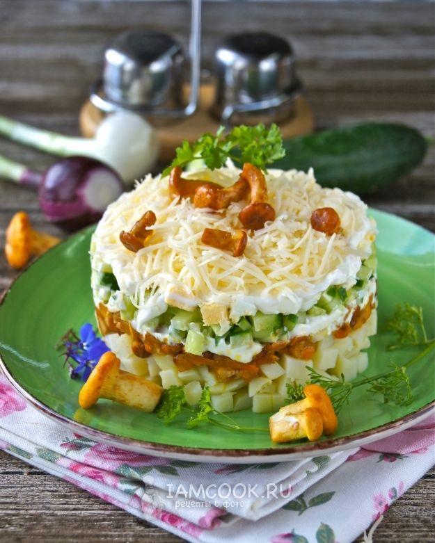 праздничные салаты с рецептами в картинках