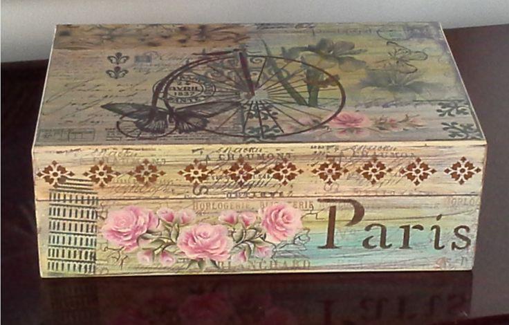 Caja vintage.
