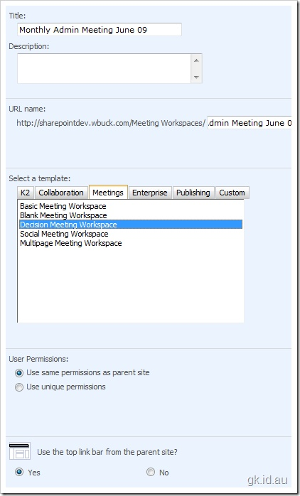 Sharepoint Meeting Workspace Overview My Virtual World