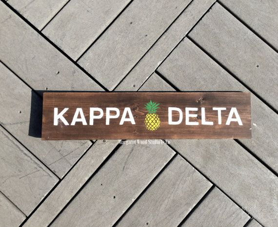 Kappa Delta Southern Charm Wooden Sign  // Big Little Reveal // Sorority Gift // Initiation // Big Little Canvas // Sorority Canvas // KD