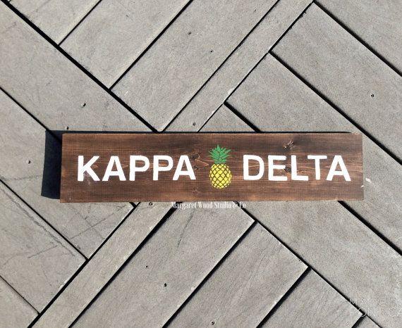 Kappa Delta Southern Charm Wooden Sign // Big Little Reveal // Sorority Gift // Initiation // Big Little Canvas // Sorority Canvas // KD