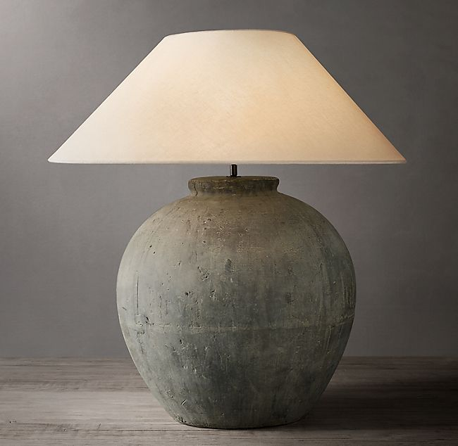 Https Media Restorationhardware Com Is Image Rhis Prod19670107 E914098695 F Pd Illum 0 Wid 650 Table Lamp Jar Table Lamp Lamp