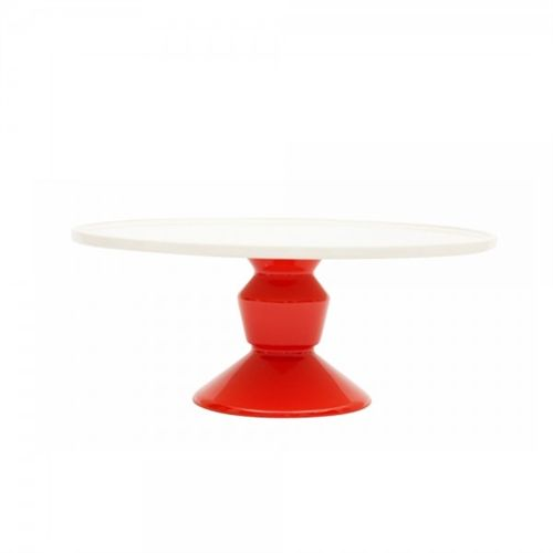 Cake Stand | Red | Large | Jansen & Co