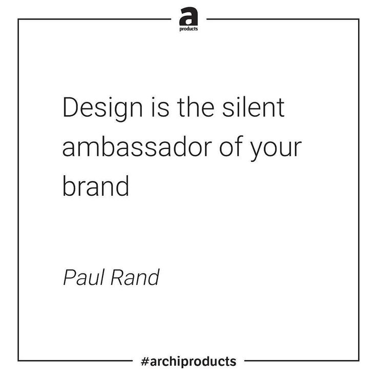 Paul Rand was an American art director and graphic designer best known for his corporate logo designs including the logos for IBM UPS Enron Morningstar Inc. Westinghouse ABC and NeXT. _ #apxquotes #archiproducts
