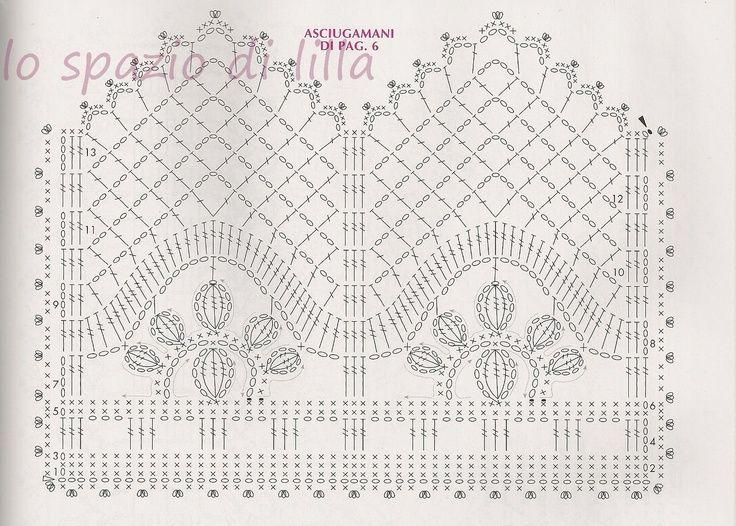 Image result for crochet diamond border