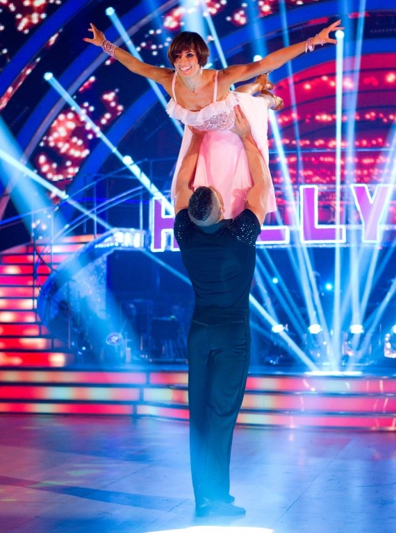 Louis Smith and Flavia Cacace - Strictly Come Dancing
