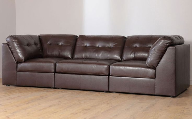 Placing the elegant Modular leather sofa UK : S3NET – Sectional sofas sale