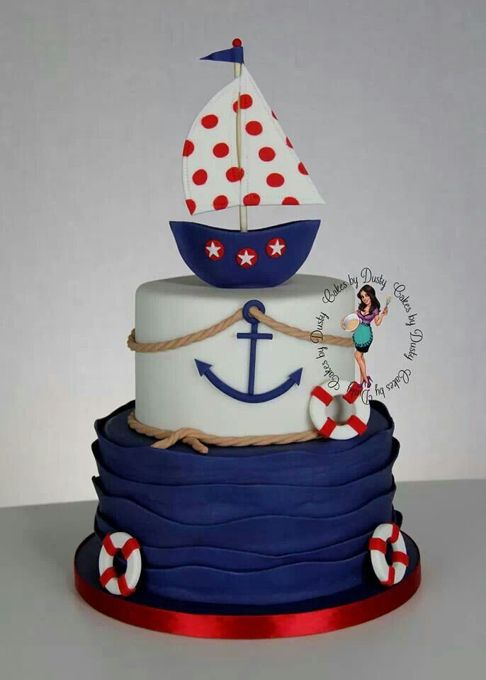 Cakes by Dusty.  Nautical cake