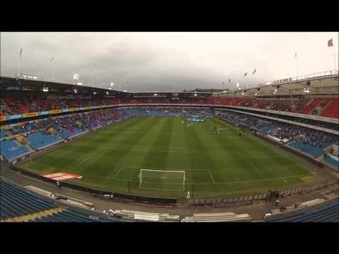 Pre match preparation Vålerenga - Molde Ullevaal Stadion 2013