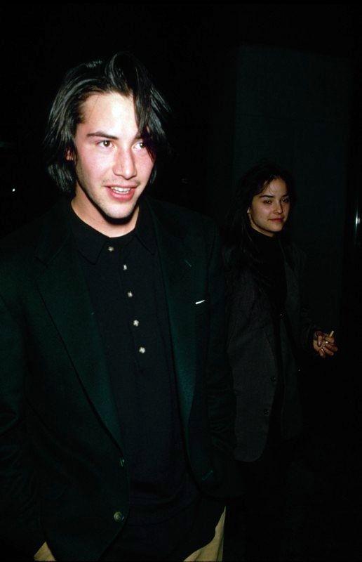 Keanu ♡♥ Reeves and sister Kim Reeves                              …