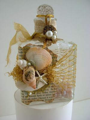Donna Perry altered bottle