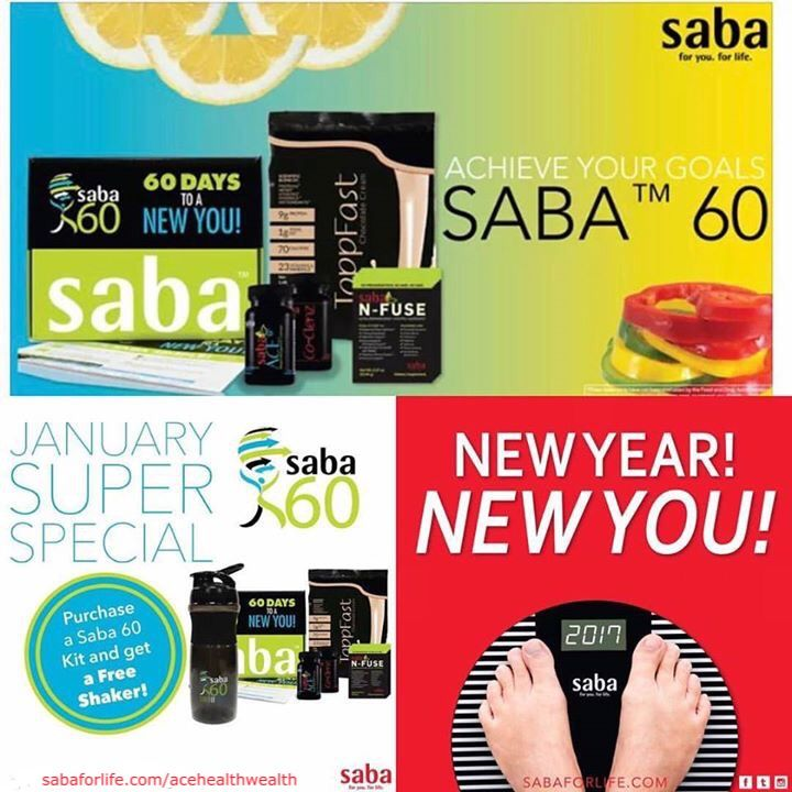 Get your FREE Shaker Bottle when you order the Saba 60 NOW!! Plus.. FREE SHIPPING from ME!! ACEHEALTHWEALTH.sababuilder.com/go/bus-saba60