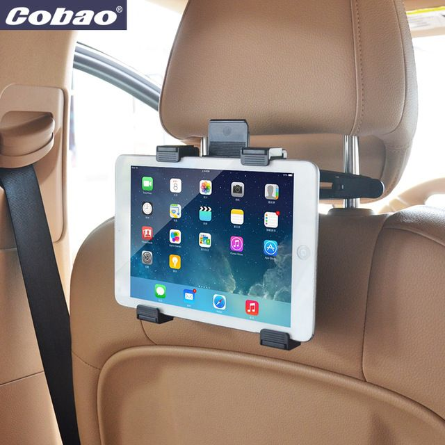 Very clever mount for iPad/Android tablets for your car, get yours now! https://goo.gl/6gTLYn #car #holder #mount #iPad #Android #tablet