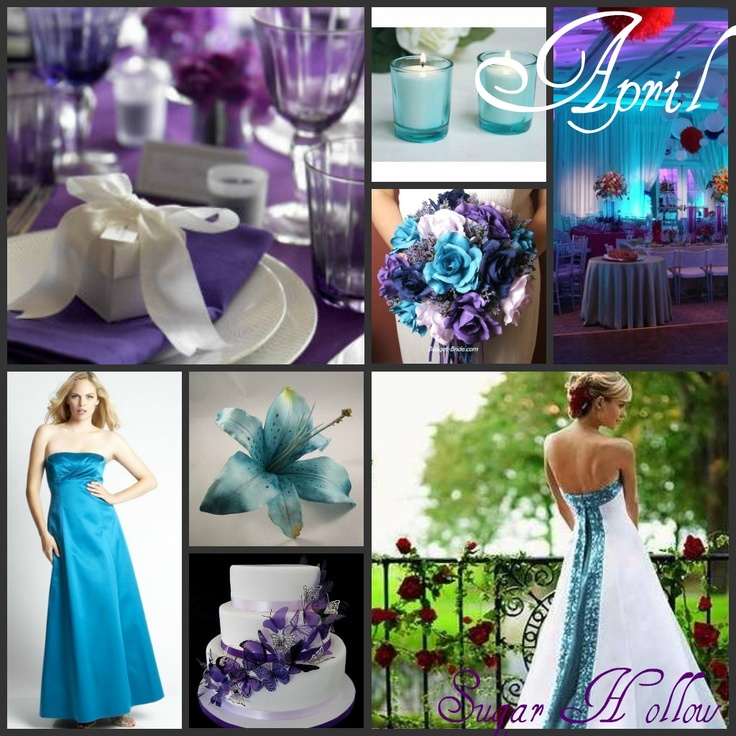 April Wedding Colors: 42 Best Images About Color By Month! On Pinterest