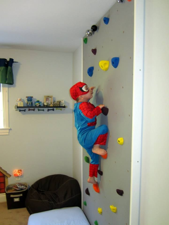 Diy Kids Climbing Wall I Love This Indoor Climbing Wall