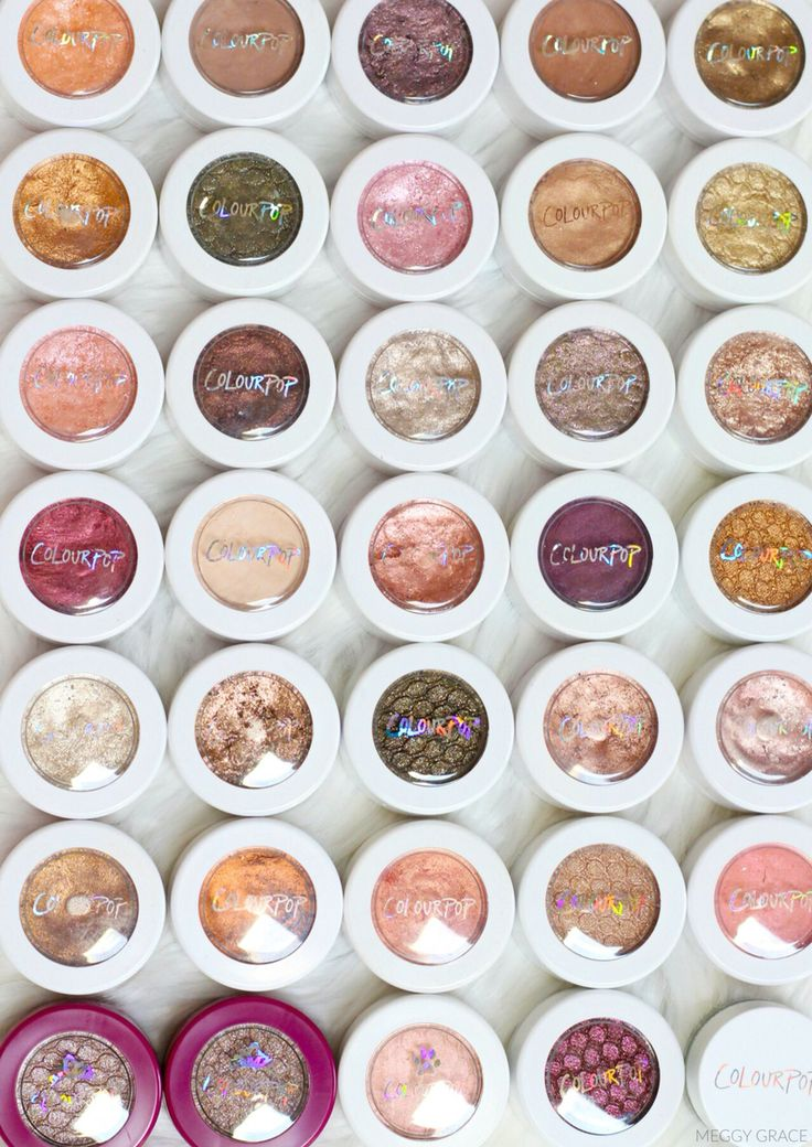 17 Best Ideas About Colourpop Eyeshadow Swatches On