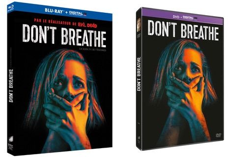 Concours Don't Breathe : gagnez 2 Blu-ray + 1 DVD
