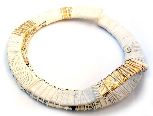 Contemporary Paper Jewelry.