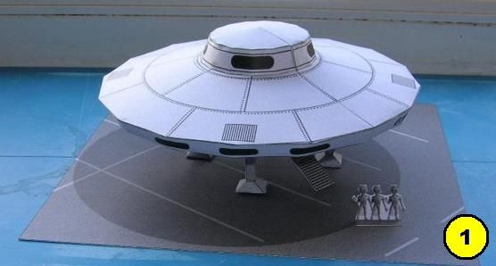 UFOS Paper Models Special - 66th Anniversary Of The Roswell Incident    Google Search has created an interactive Google Doodle to mark the 66th anniversary of the Roswell incident that UFO enthusiasts claim was an alien spaceship visiting Earth. That caught my attention, so I decided to make a post just with UFOs. Enjoy!