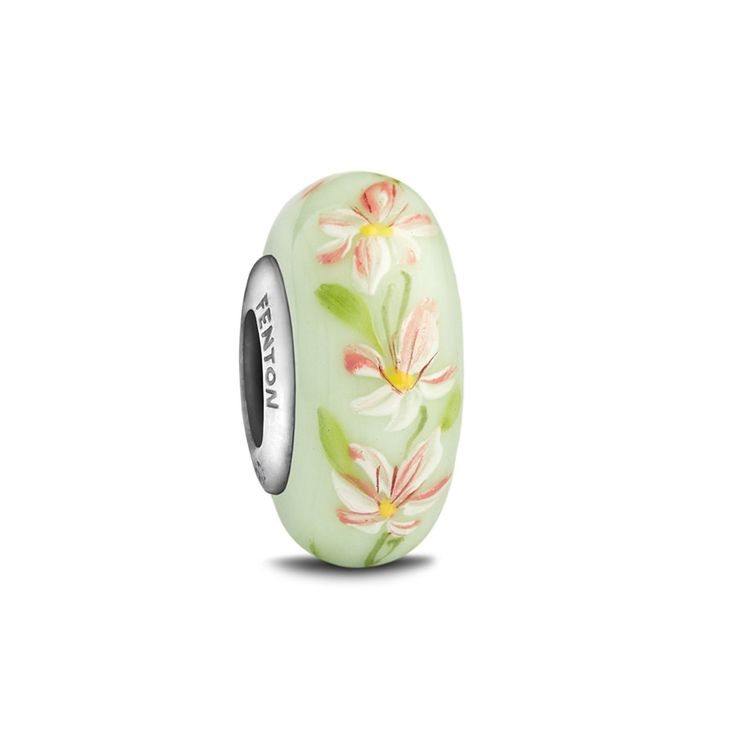 Sincerity, Strength of Character, Grace Birth Flower: Gladiolus Our Heartstrings Collection celebrates the special bonds and moments you experience in your life. Handcrafted glass bead with sterling s