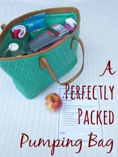 How to pack a pumping bag: This article is for nursing moms who pump at work and want to stay organized, or for someone looking for a cute breast pump bag who doesn't want to spend a fortune.