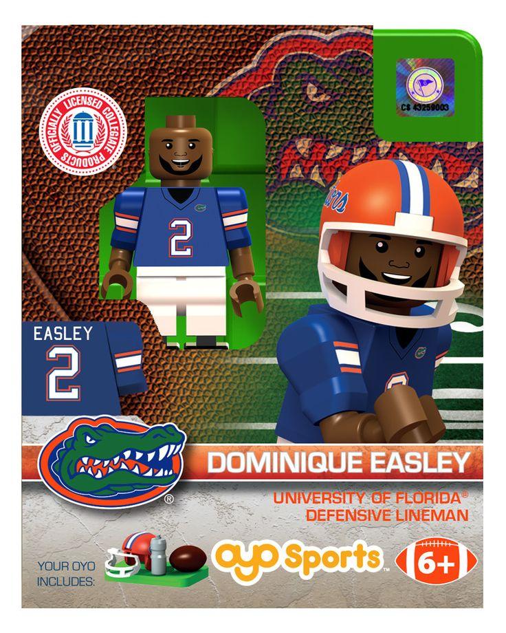 Florida Gators Dominique Easley College Legend Limited Edition OYO Minifigure