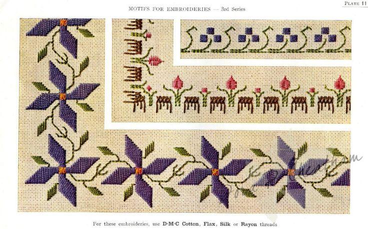 Gallery.ru / Фото #13 - Vintage DMC - Motifs for Embroideries No 3 - Dora2012