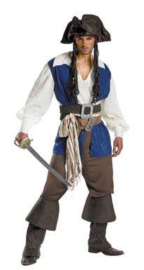 Best Mens Halloween Costume Ideas: Pirate