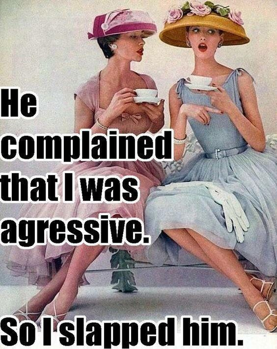 he complained