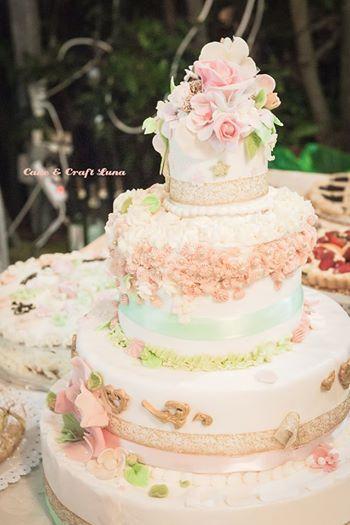 Cake nozze d'oro