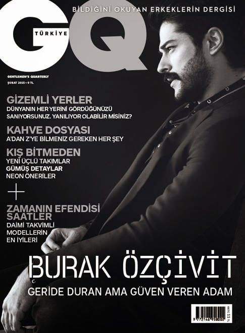 Burak Özçivit GQ Turquía Febrero...My fav Turkish Delight :) The Turkish Men they do know how to dress...
